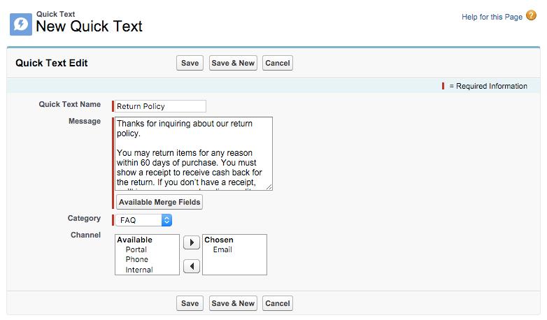 Amostra de texto rápido
