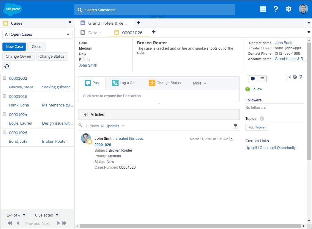 Screenshot einer Konsole mit einer verankerten Liste auf der linken Seite
