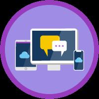 Digital Engagement icon
