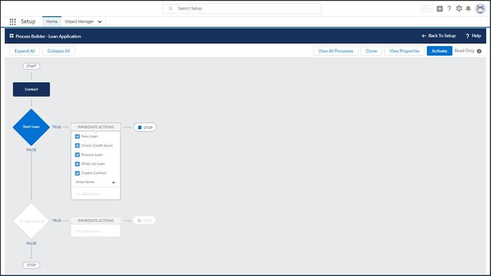Verwenden des Prozessgenerators zum Erstellen von Prozessen