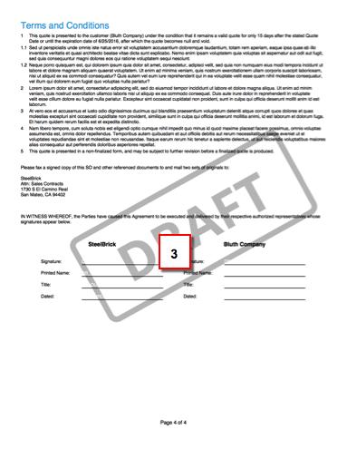 ドラフト提案の 2 ページ目