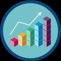 Analyse des données Slack icon
