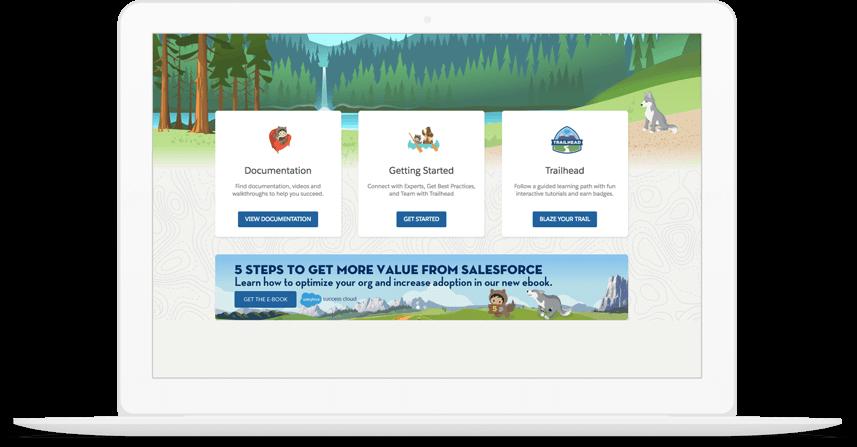 Help portal homepage
