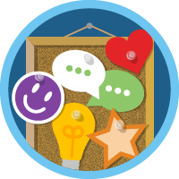 Trailblazer Community Groups badge
