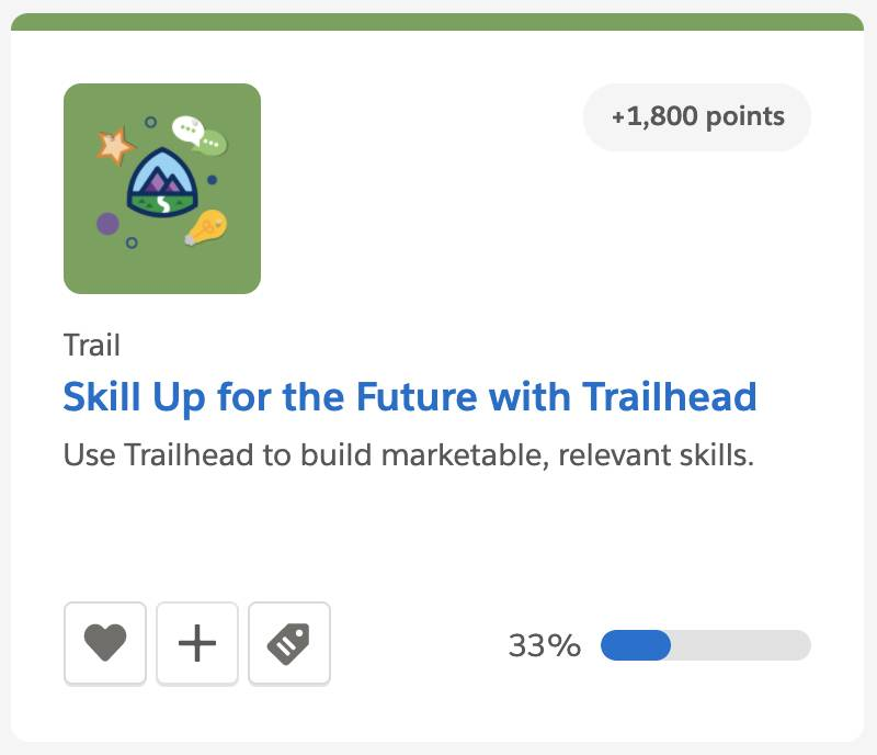 Skill Up for the Future with Trailhead trail tile
