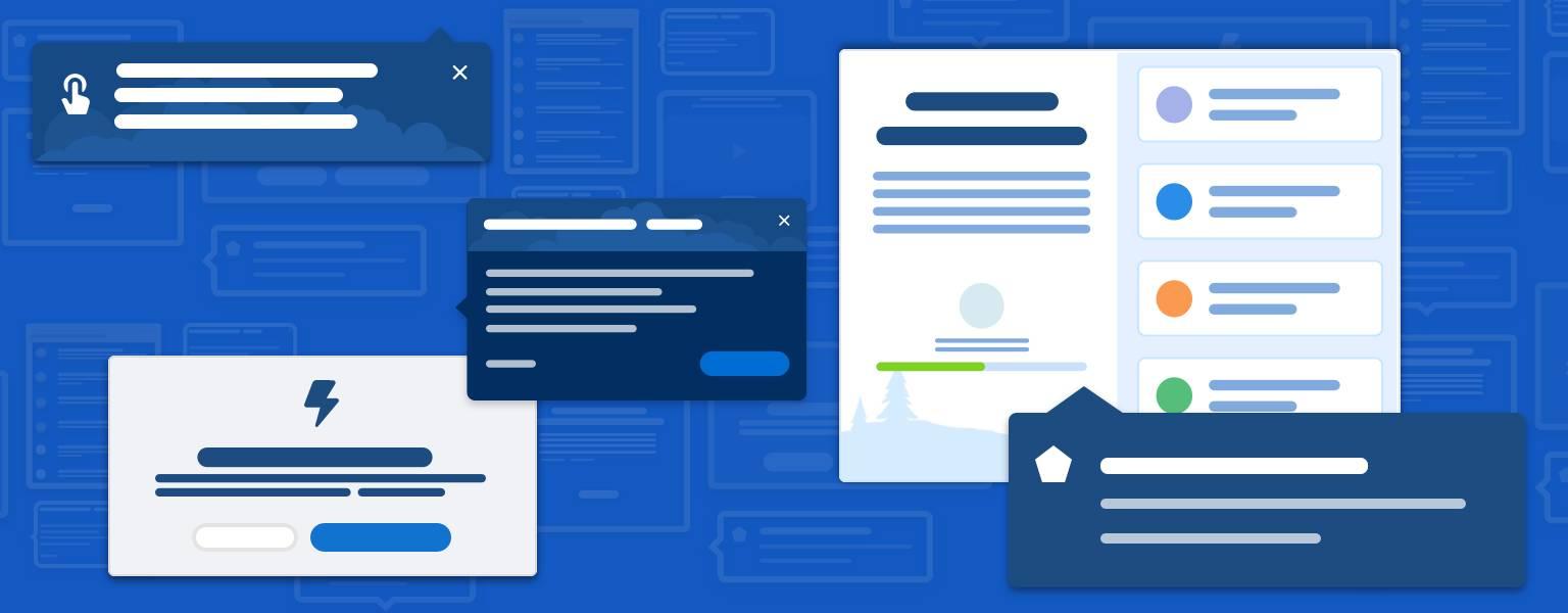 Esquema de página de varios componentes en aplicación