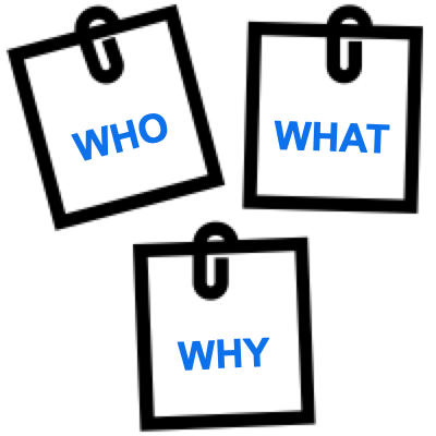 Who What Why image