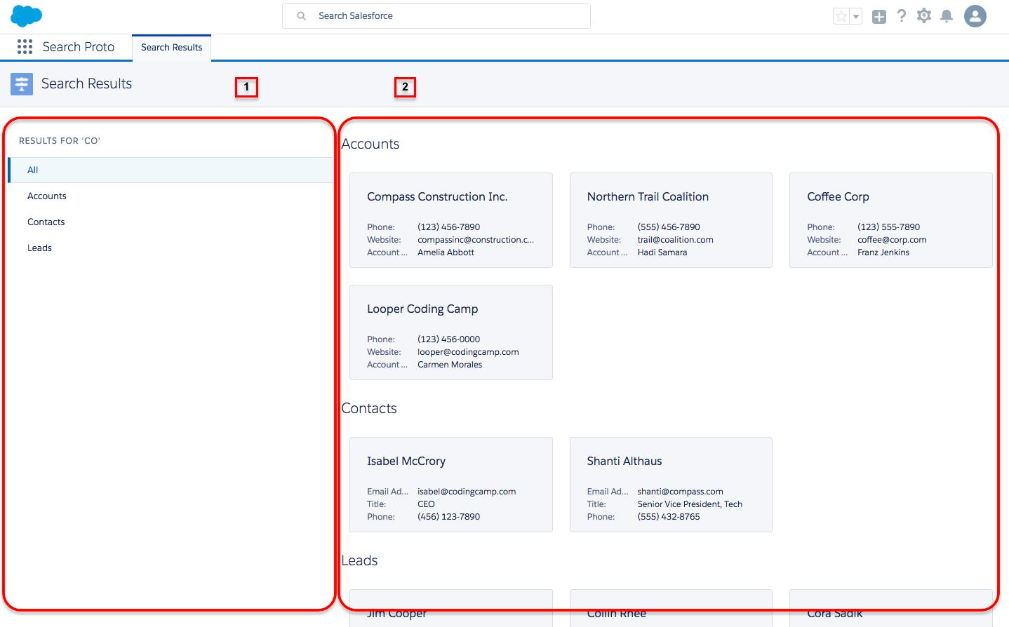 Use Salesforce Lightning Design System To Build A Prototype Unit