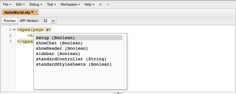 Sugerencias automáticas para valores de atributo de Salesforce