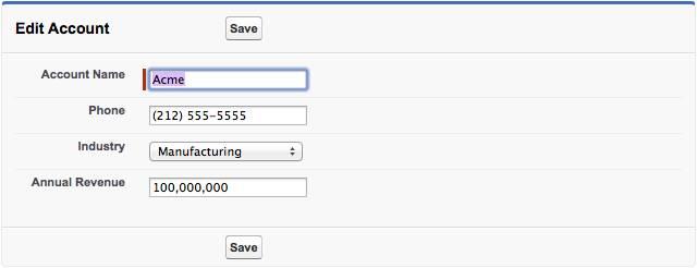 Modificar formulario de cuenta con estilo de plataforma