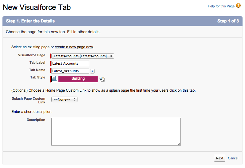 Add Visualforce Pages to the Navigation Menu Unit | Salesforce