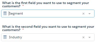 Sales Wave ウィザードの最初の 2 つの質問