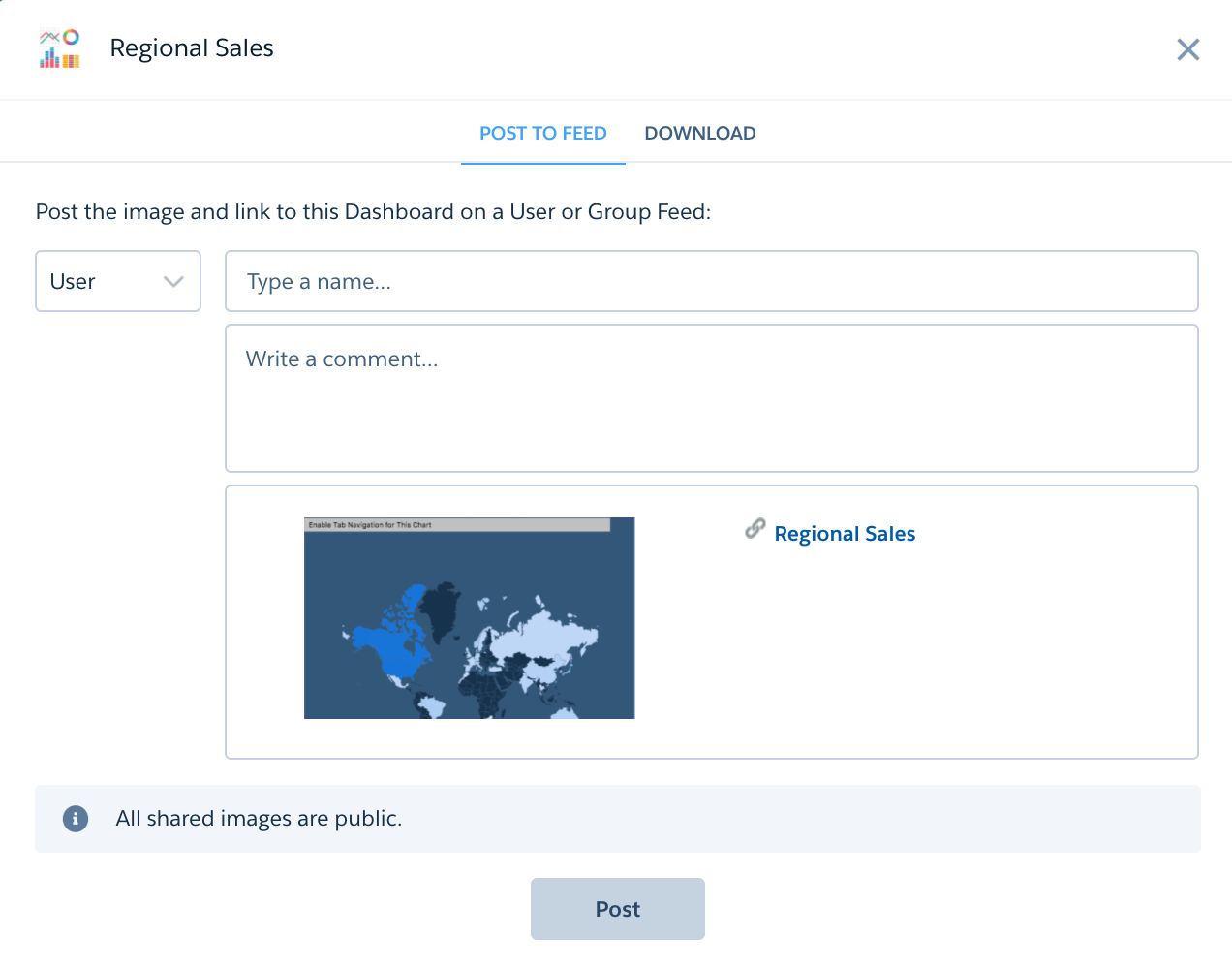 Post Dashboard Image in Chatter