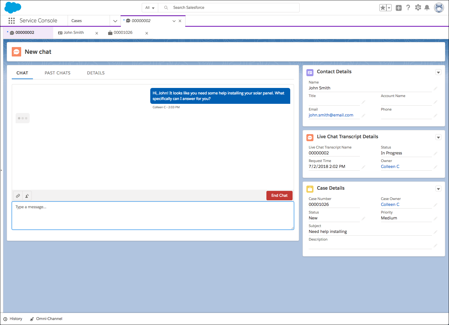 Create Pre-Chat and Offline Support Forms Unit | Salesforce