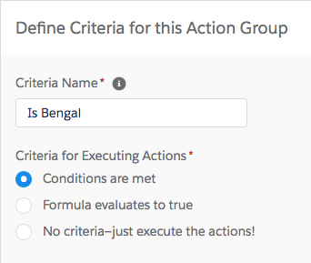 Process Builder Criteria