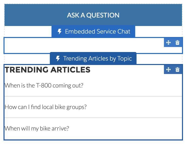 Colocação de Trending Articles by Topic (Artigos principais por tópico)