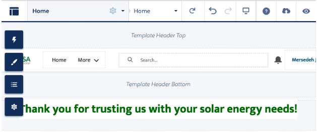 Thank you for trusting us with your solar power needs