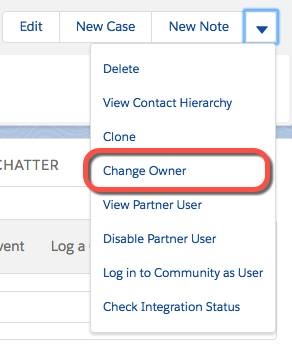 Change owner