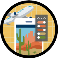 Customize the User Interface for a Travel Approval App icon