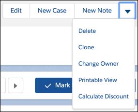 [Calculate Discount (割引計算)] ボタン