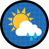 Incorporate Data from The Weather Company in Salesforce icon
