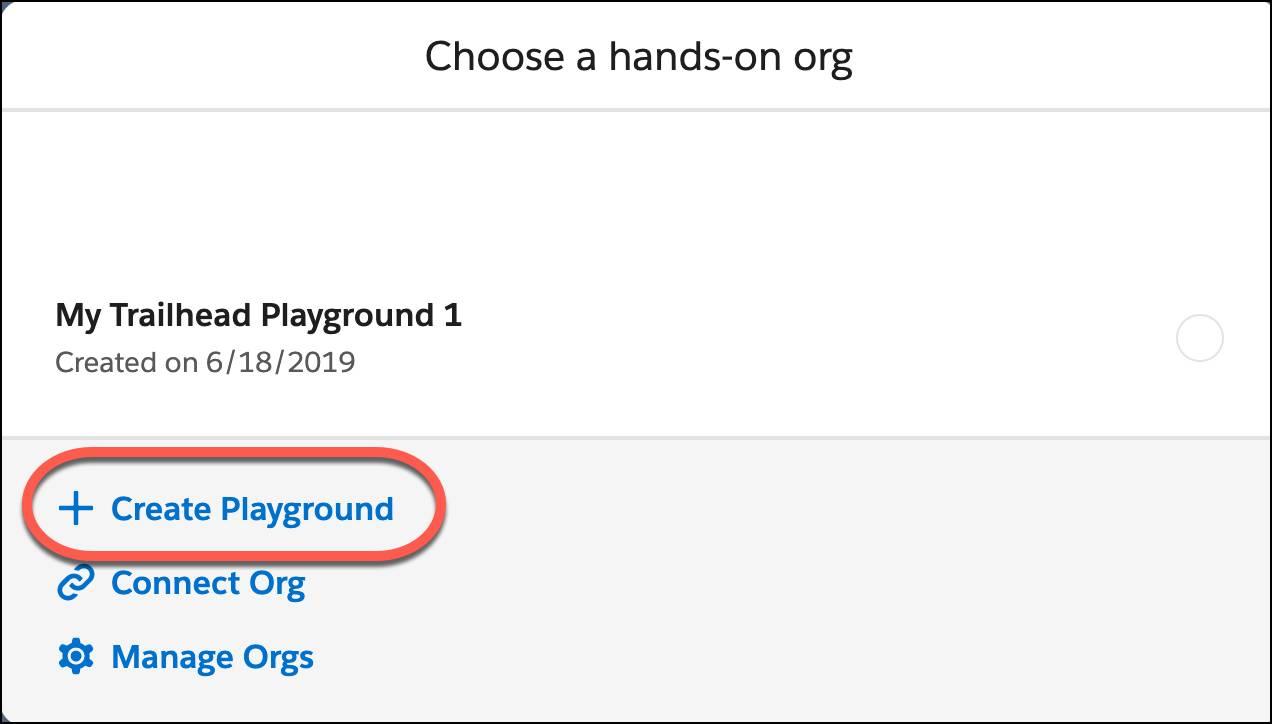 Create a new Playground.