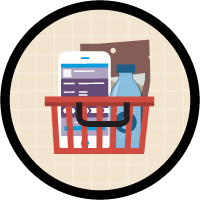 Plan and Manage Store Visits with Consumer Goods Cloud icon
