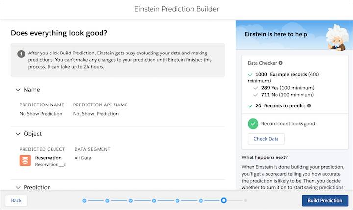 Confirm and build your prediction