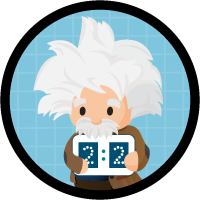 Prioritize Leads with Einstein Lead Scoring badge