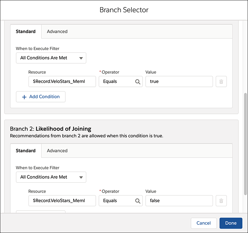 "Populating the ""Is a Member?"" Branch Selector"