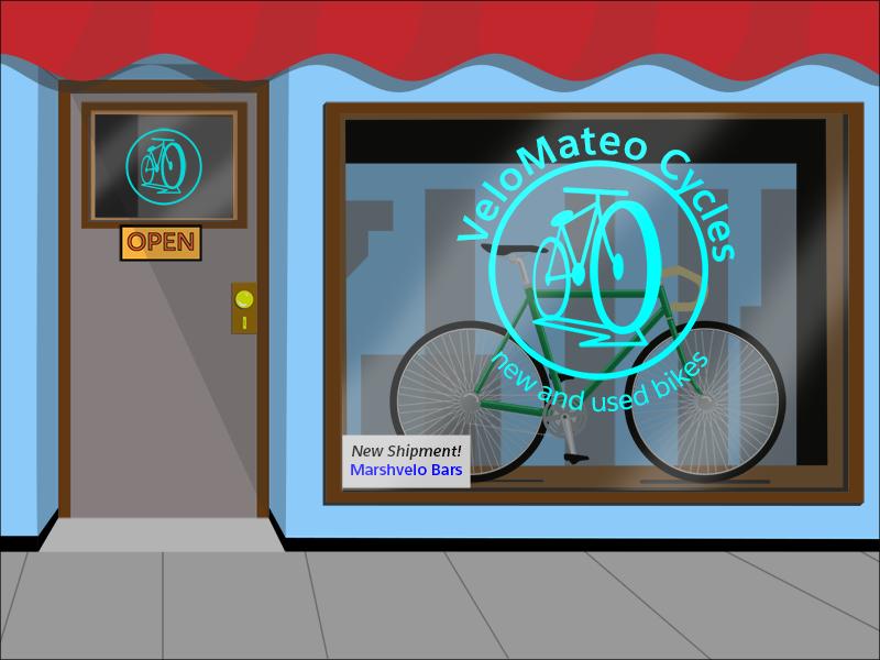 The VeloMateo bike shop