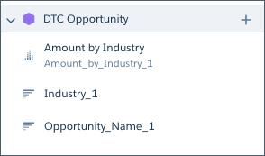 新しいステップ [Opportunity_Name_1] は、右側に表示されます。