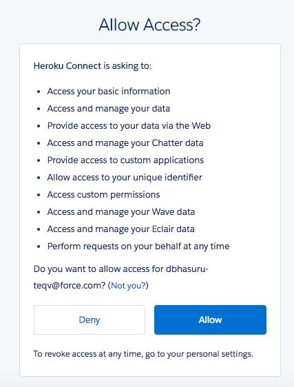 Salesforce OAuth