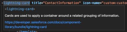 Base Lightning component documentation