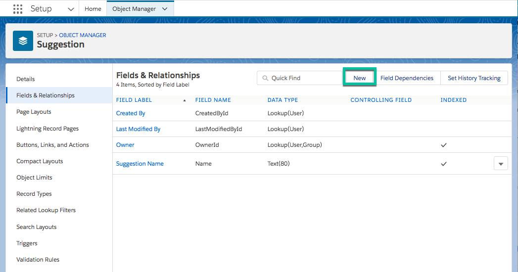 Add Custom Fields Unit | Salesforce Trailhead