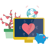 Fundraise with Nonprofit Cloud badge