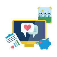 Manage Programs with Nonprofit Cloud icon