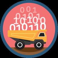 Large Data Volumes icon