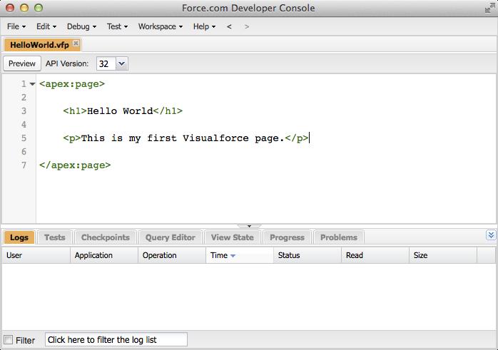The Developer Console