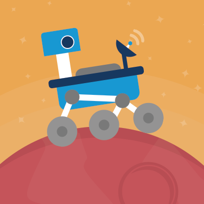 Image of a Mars Rover