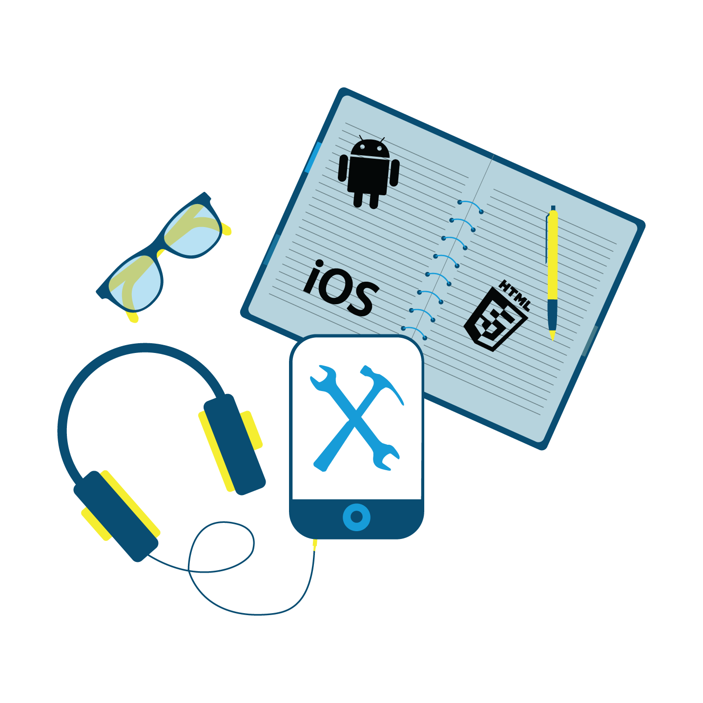 Develop with Mobile SDK badge