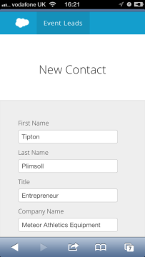 6 create new contact