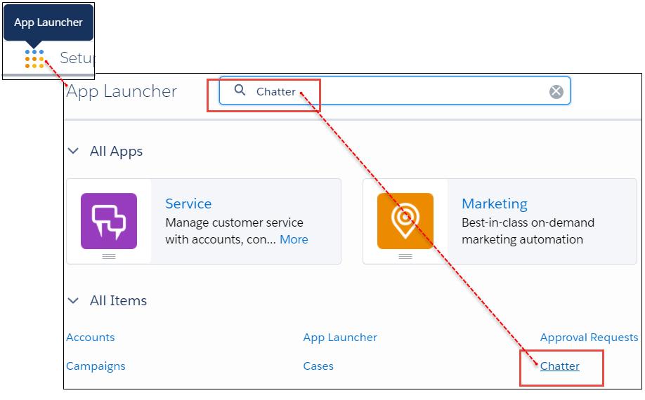 The App Launcher