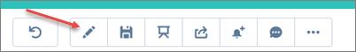 Dashboard editor icon