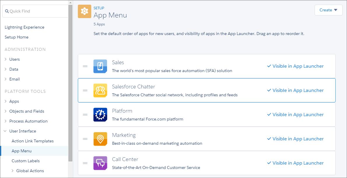 App Launcher Setup