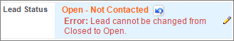 The error message a user sees when they violate the validation rule.