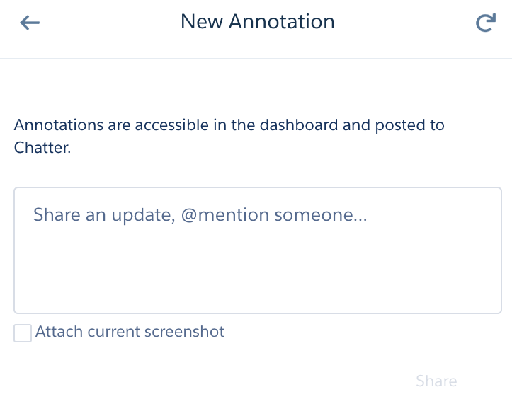 New Annotation Panel