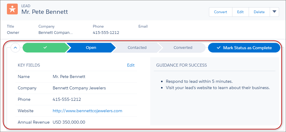 Optimize Sales Processes Using Path Unit | Salesforce Trailhead