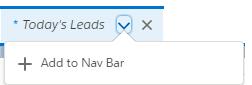 Add an item to the nav bar