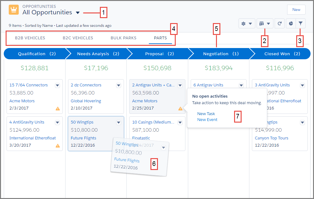 Explore the New Sales Tools Unit | Salesforce Trailhead